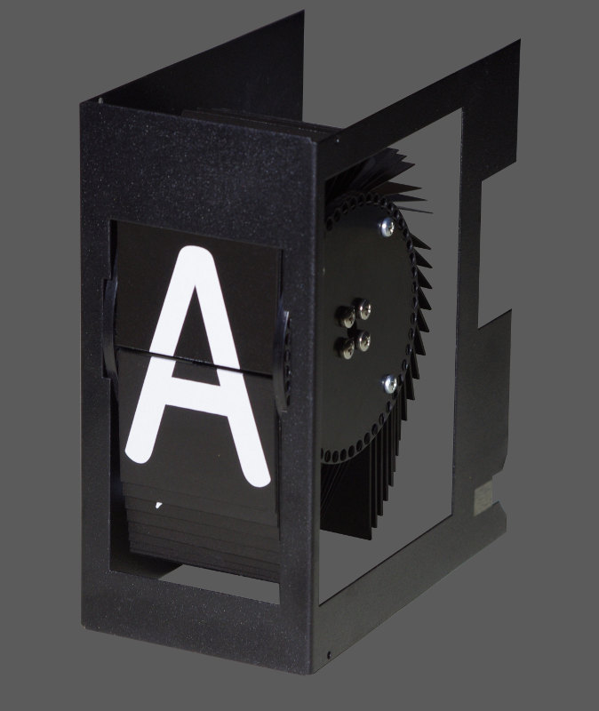 split flap display module