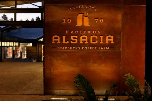 Starbucks Costa Rica Split Flap