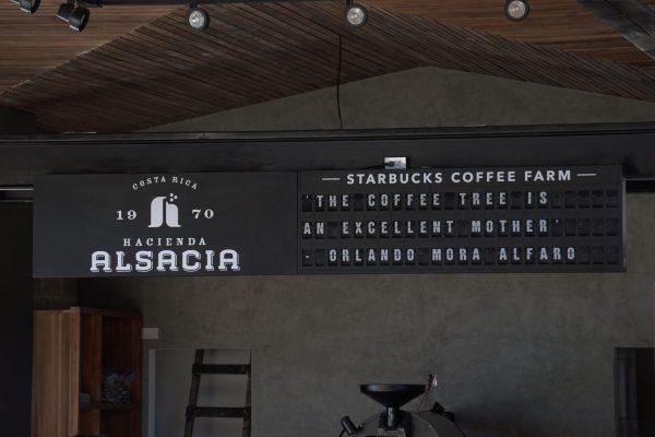 starbucks coffee farm split flap