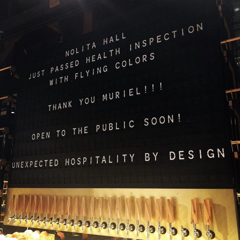 Nolita Hall Split Flap Display