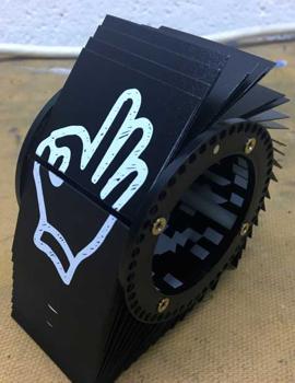 split flap module