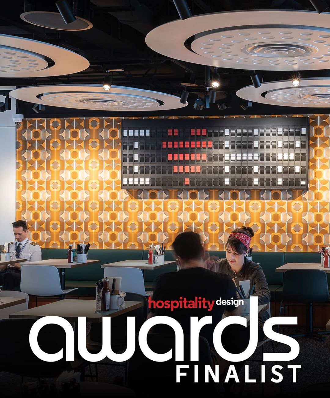 Oat Foundry Split Flap named #2 product of year by Hospitality Design