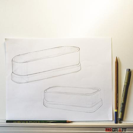 Mechanical design drawing
