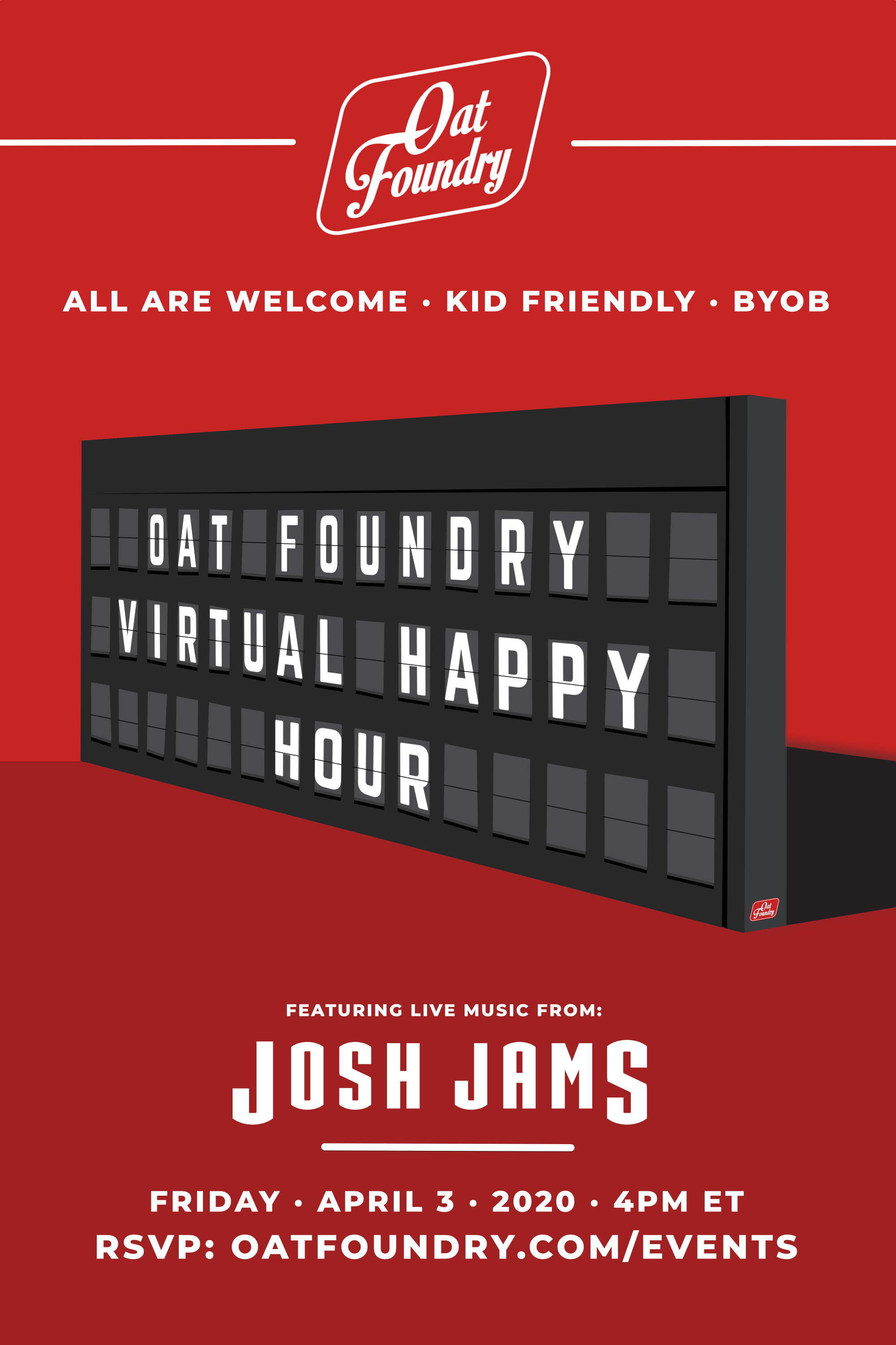 Oat Foundry Virtual Happy Hour