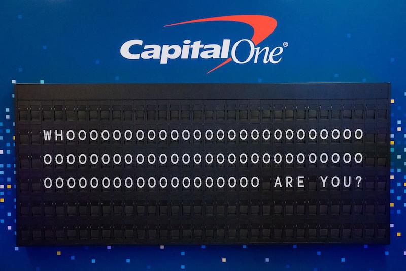 Capital One Identiverse Split Flap 3