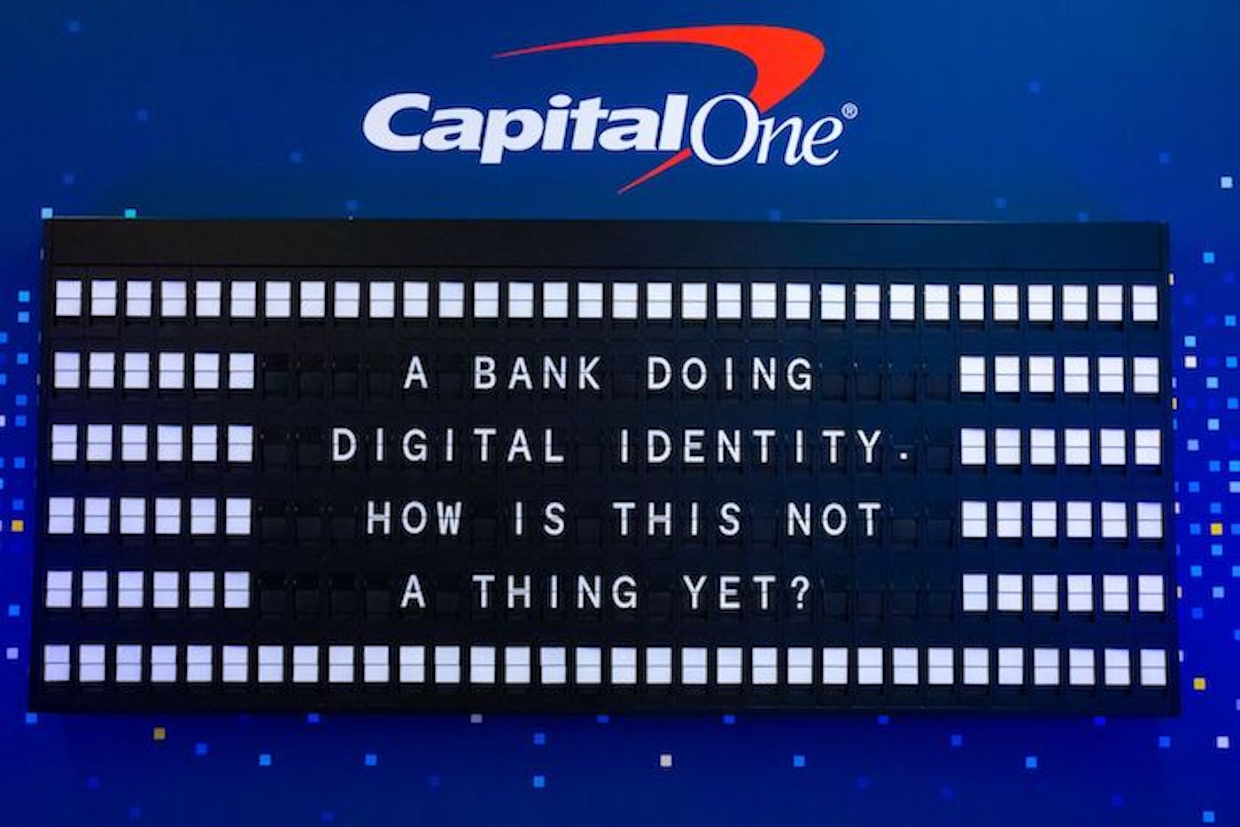 Capital One Identiverse Split Flap 5
